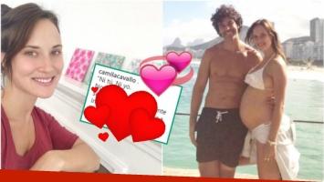 Camila Cavallo mostró su súper panza de 7 meses y le dedicó un tierno mensaje a Mariano MartínezCamila Cavallo mostró su súper panza de 7 meses y le dedicó un tierno mensaje a Mariano Martínez (Fotos: Instagram)