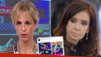 Fuerte respuesta de Mariana Fabbiani a Cristina Kirchner