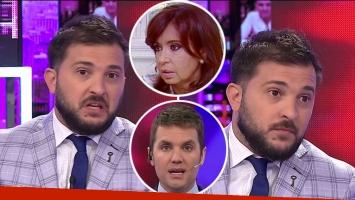 El pedido de Diego Brancatelli a la producción de Intratables tras el polémico tweet de Cristina Fernández de Kirchner