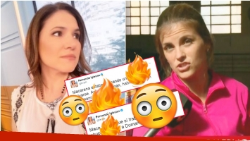 Furiosos tweets de Fernanda Iglesias contra Macarena Rawson Paz, la novia de Fabián Doman (Fotos: Twitter y Captura)