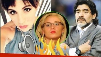 Escandaloso audio de Gianinna Maradona a su papá criticando a Rocío Oliva