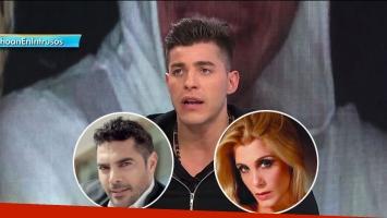 Lhoan y su versión del video por el embarazo de Flor Maggi y Matías Alé. (Foto; TV)