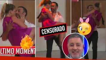 El blopper hot de la novia de Fabián Doman en su prueba para Bailando 2017