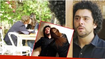 Alfred descubrió la infidelidad de Verónica y Tomás en Quiero vivir a tu lado (Fotos: Captura y Prensa eltrece)