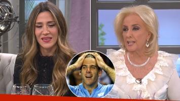 Jimena Barón y su incómoda reacción cuando Mirtha le preguntó si estaba enamorada de Del Potro