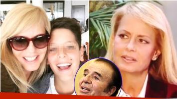 Las fuertes declaraciones de Cecilia Bolocco sobre el hijo que tuvo con Menem (Fotos: Instagram, Captura y Web)