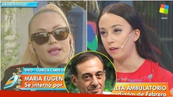 La confesión de Naiara Awada tras el alta médica de María Eugenia Ritó (Fotos: Captura y Web)