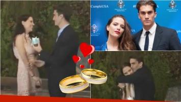 Tomás Guarracino le pidió casamiento a Ivana Figueiras. Foto: Instagram/ Web