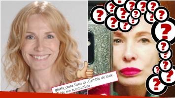 El radical cambio de look de Gloria Carrá (Fotos: Web e Instagram)