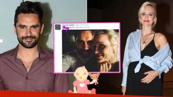 Gonzalo Heredia y Brenda Gandini, felices con la dulce espera (Foto: Ciudad magazine y web)