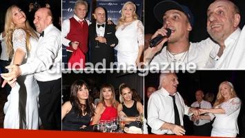 La divertida fiesta de casamiento de Horacio Pagani con Cecilia Di Carlo (Foto: Movilpress)