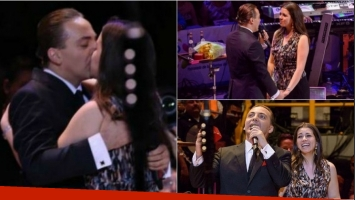 Cristian Castro le pidió casamiento en pleno recital a su novia