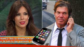 """Barby Franco reveló el insólito sistema """"espía"""" que le instaló Burlando en su celular"""
