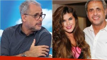 Jorge Rial habló de la diferencia de edad de las parejas... ¿y habló de su relación con Loly Antoniale? Foto: Captura