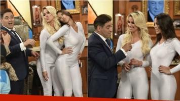 Ailén Bechara y Maypi Delgado, súper sexies en catsuit en el debut de Polémica en el Bar. Foto: Instagram