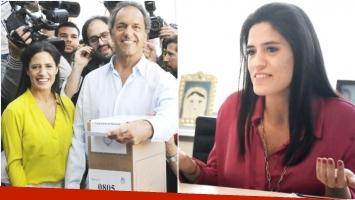 El tweet de Lorena Scioli tras el escándalo de su papá con Gisela Berger