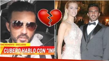 La confesión de Fabián Cubero sobre su relación con Nicole Neumann (Fotos: Captura y Web)