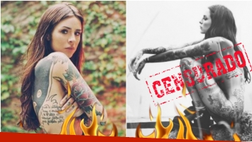 El desnudo total de Candelaria Tinelli en Instagram (Fotos: Instagram)