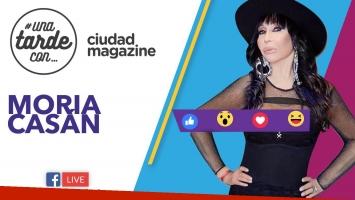 Moria Casán, la invitada del programa #200 de #UnaTardeCon por Facebook Live.
