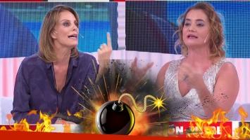 ¡Tremendo escándalo en TV! Nancy Pazos y Nequi Galotti se cruzaron en vivo: gritos y fuertes acusaciones