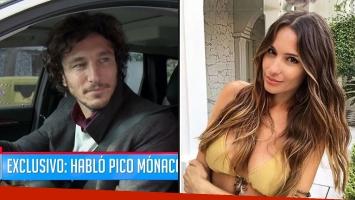 A Pico Mónaco le preguntaron si dejó el tenis por Pampita y… ¡mirá qué dijo!
