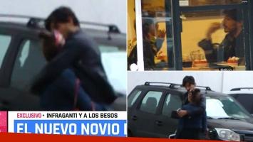 Juana Viale, mimosa con un misterioso empresario en las calles de Palermo