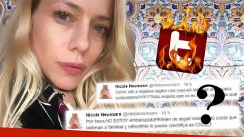 La furia de Nicole Neumann tras un explosivo rumor de embarazo