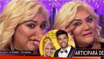 Gladys La Bomba Tucumana se emocionó al hablar de su hijo en La Previa del Show. Foto: Captura