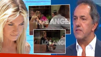 La primera salida pública de Gisela Berger tras el escándalo con Scioli