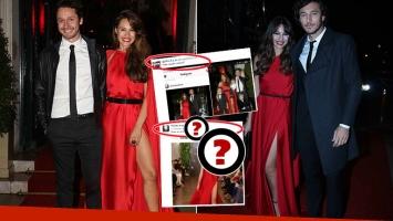 El tweet de Pampita tras la comparación de sus vestidos (Foto: Ciudad)