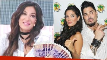 Silvina Escudero contó que Ricardo Fort le había ofrecido 60 mil pesos por mes para fingir ser su novia (Fotos: Captura y Web)