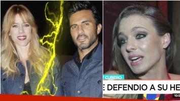 Gegé Neumann habló de la separación de Nicole y Fabián Cubero (Fotos: Web y Captura)