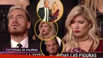 ¡Qué gestos, qué caras! Mirá a Fede Bal y Laurita Fernández mientras hacían las fotos para Bailando 2017