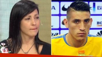 El jugador de Boca Ricardo Centurión, denunciado por su ex