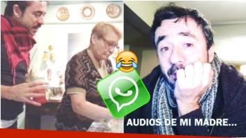 El divertido video de la madre de Pablo Granados enviándole mensajes de voz con desopilantes consejos (Fotos: Capturas de Instagram)