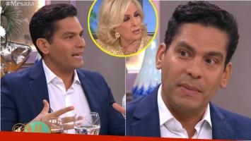 La confesión de Ismael Cala en Almorzando con Mirtha Legrand: