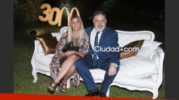 Macarena Rawson Paz y Fabián Doman, en crisis de pareja. (Foto: Ciudad Magazine)