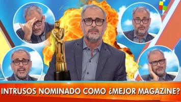 La reacción de Rial al enterarse en vivo de la nominación de Intrusos al Martín Fierro
