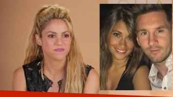 Shakira habló de los fuertes rumores de pelea con Antonella Roccuzzo