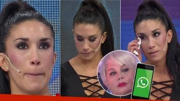 Florencia Marcasoli rompió en llanto en LAM