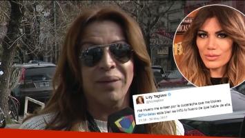 Lizy Tagliani explicó el polémico tweet que le dedicó a Flor de la Ve
