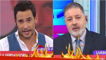 Rodrigo Lussich, durísimo con Fabián Doman en Confrontados: