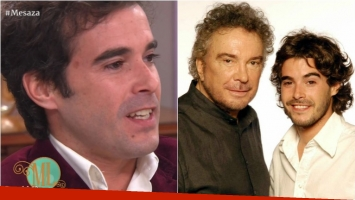 Nicolás Cabré se emocionó recordando a Alfredo Alcón en Almorzando con Mirtha Legrand. Foto: Captura/Web