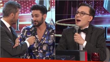 El chispazo de Polino con Hernán Piquín en Bailando 2017: