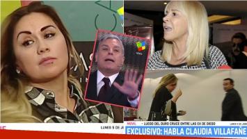Verónica Ojeda se levantó de un móvil de Pamela a la tarde para no cruzarse con Claudia Villafañe. Foto: Captura