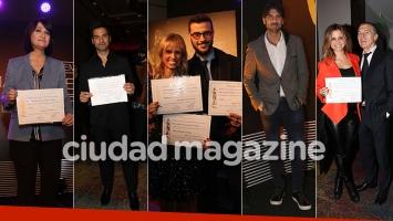 Todos los looks de los famosos en la entrega de diplomas para los Martín Fierro (Foto: Movilpress)
