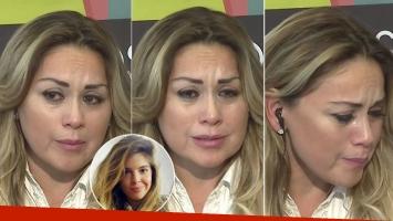 El llanto de Verónica Ojeda tras los fuertes tweets de Dalma Maradona