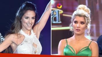 Lourdes Sánchez reavivó la pica con Laurita Fernández. Foto: Ideas del Sur.