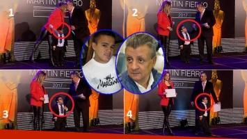 Papelón en la entrega de diplomas de los Martín Fierro.
