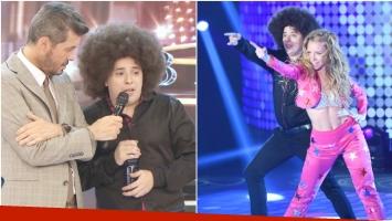 El Dipy se emocionó en su debut en Bailando 2017 (Fotos: Captura y Prensa Ideas del Sur)